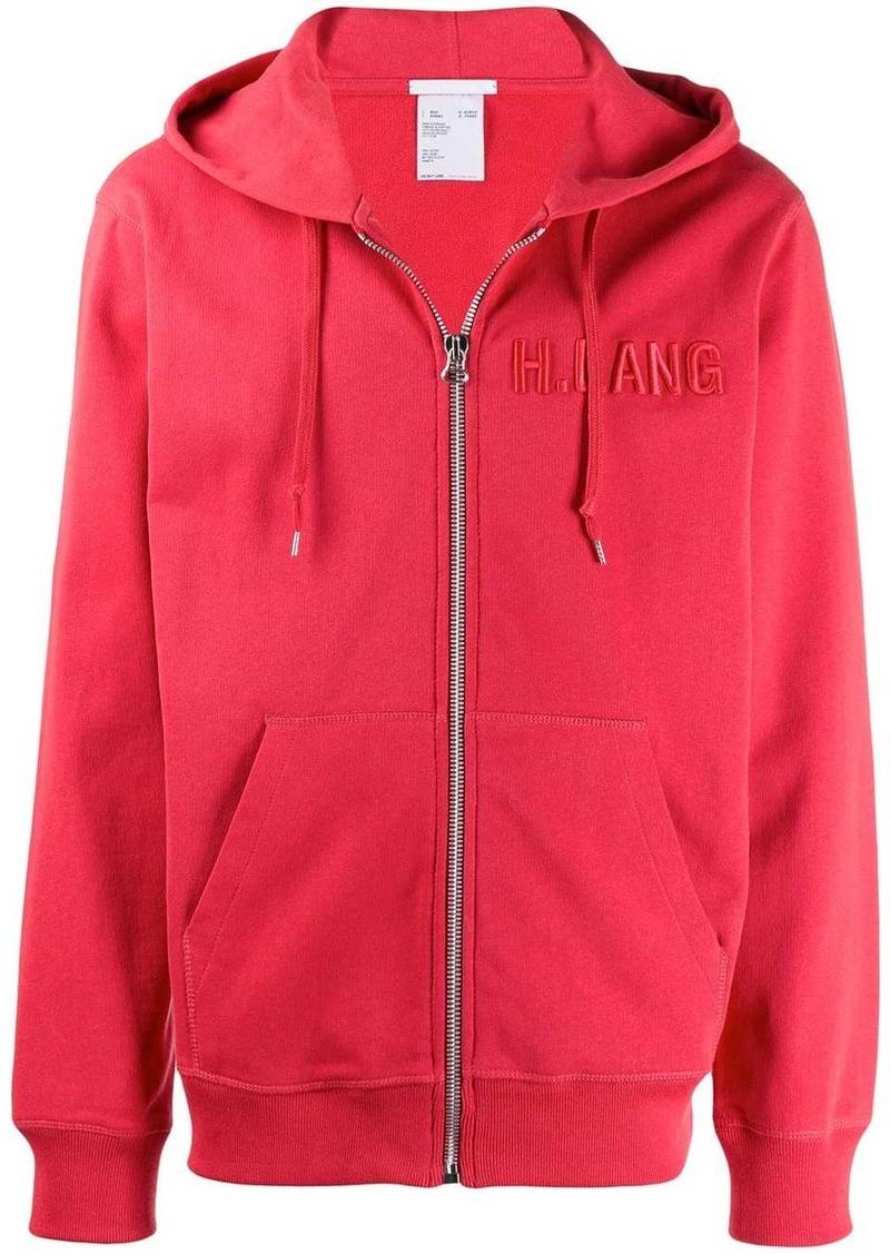 Helmut Lang zipped hoodie