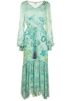 Hemant And Nandita floral-print maxi dress