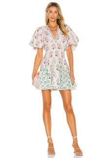 HEMANT AND NANDITA Brio Mini Dress