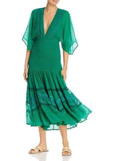 Hemant and Nandita Cleo Crochet Dot Dress