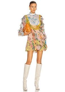 HEMANT AND NANDITA Fluer Mini Dress