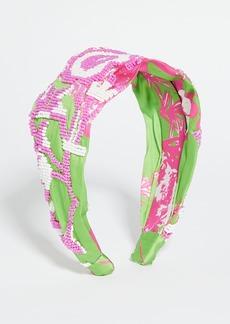 Hemant and Nandita Pink Headband