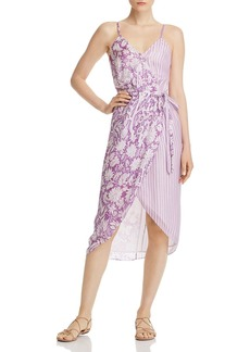 Hemant and Nandita Printed Wrap Dress