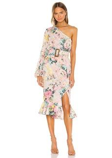 HEMANT AND NANDITA Teien Midi Dress