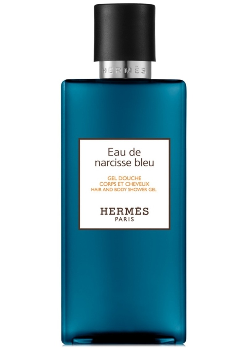 HERMES Eau de Narcisse Bleu Hair & Body Shower Gel, 6.7-oz.