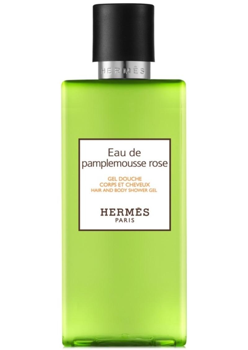 HERMES Eau de Pamplemousse Rose Hair & Body Shower Gel, 6.7-oz.
