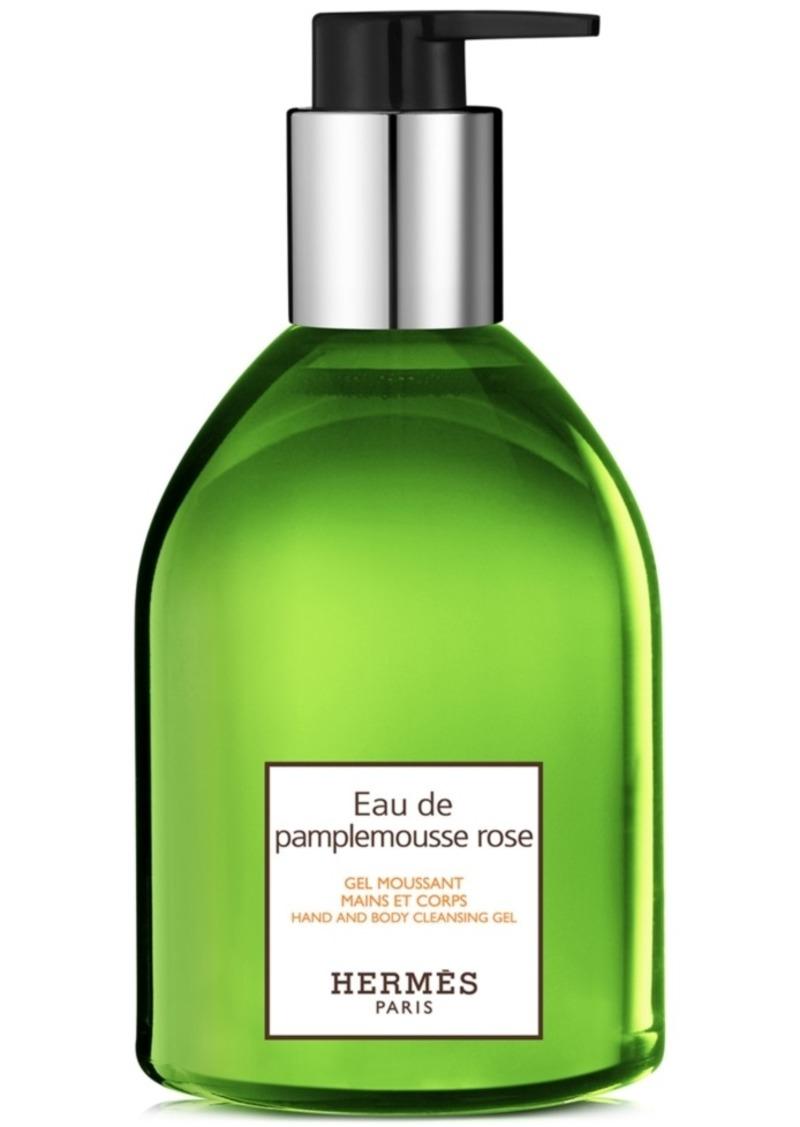 HERMES Eau de Pamplemousse Rose Hand & Body Cleansing Gel, 10-oz.