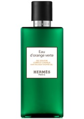 HERMES Eau d'Orange Verte Hair & Body Shower Gel, 6.7-oz.