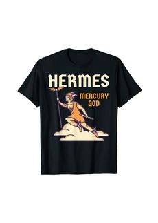Hermes God Greek Mythology - Mercury God Zeus Son T-Shirt