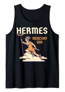 Hermes God Greek Mythology - Mercury God Zeus Son Tank Top