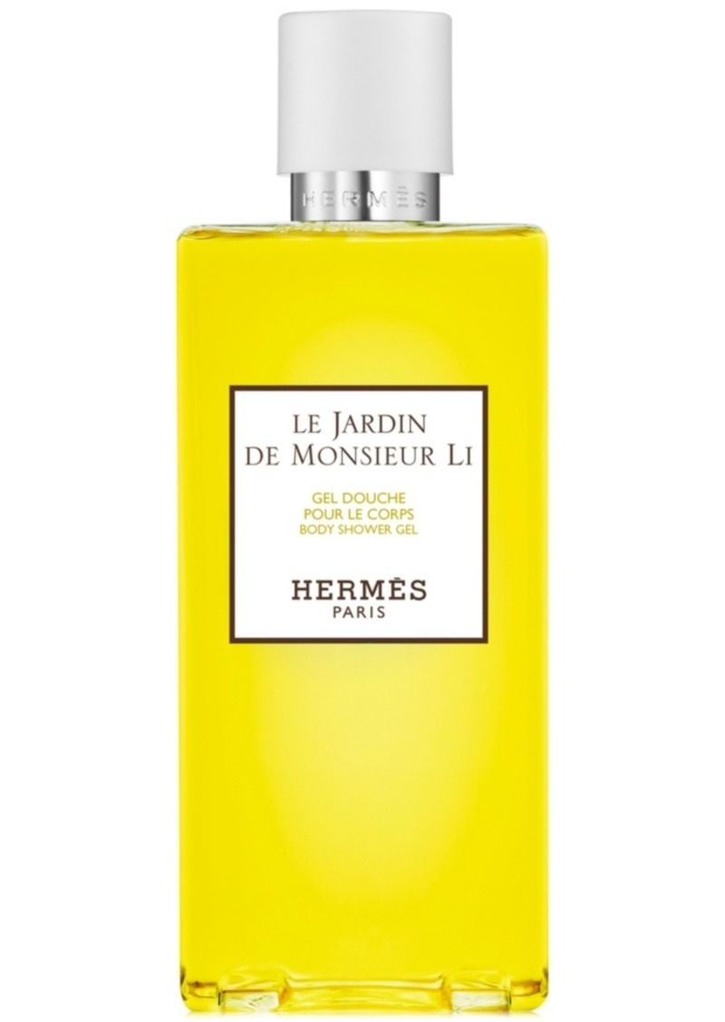 HERMES Le Jardin de Monsieur Li Body Shower Gel, 6.7-oz.