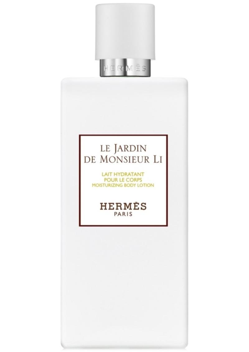 HERMES Le Jardin de Monsieur Li Moisturizing Body Lotion, 6.7-oz.