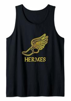 Hermes Shoe Caduceus Son Zeus God Greek Mythology Cute Gifts Tank Top