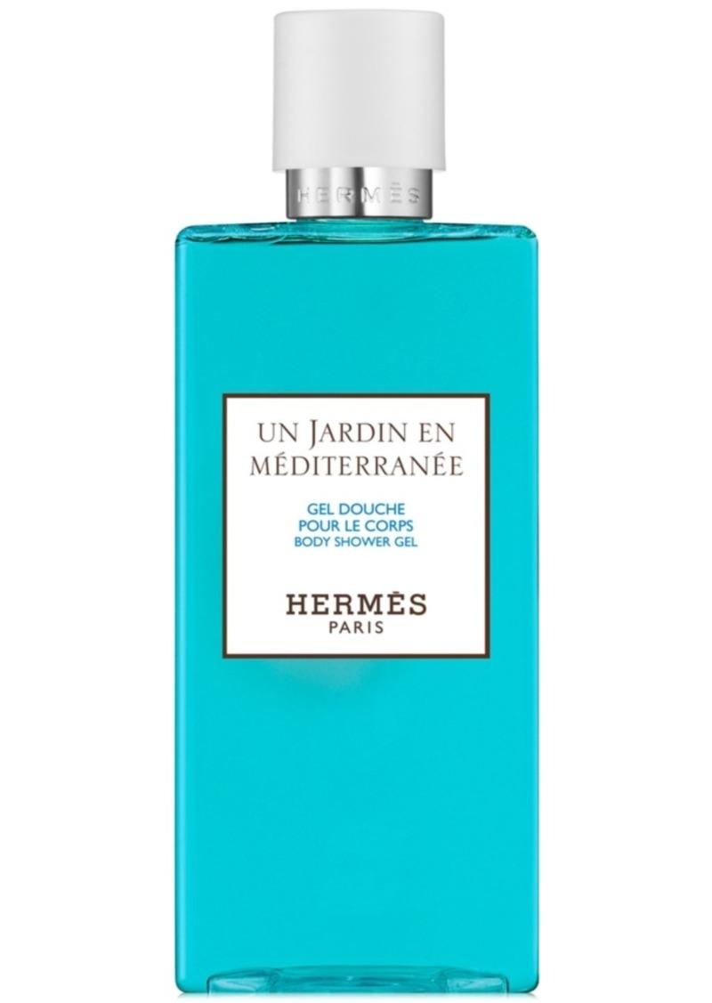HERMES Un Jardin en Mediterranee Body Shower Gel, 6.7-oz.