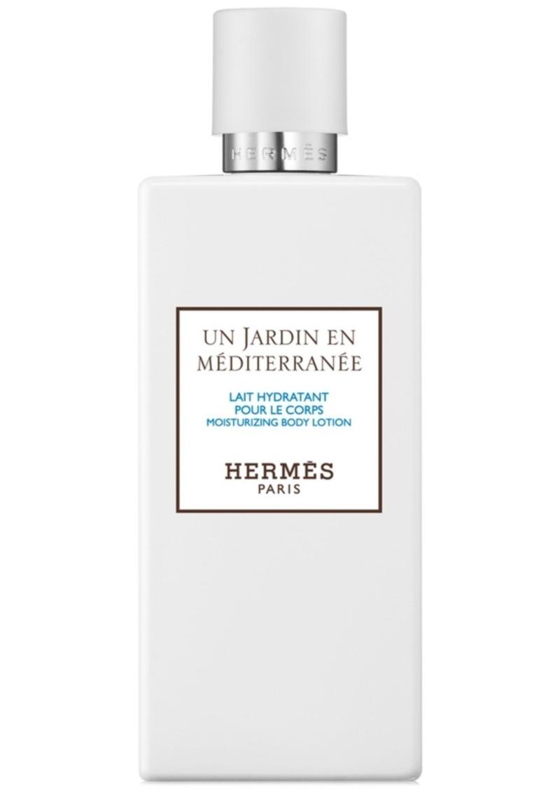 HERMES Un Jardin en Mediterranee Moisturizing Body Lotion, 6.7-oz.
