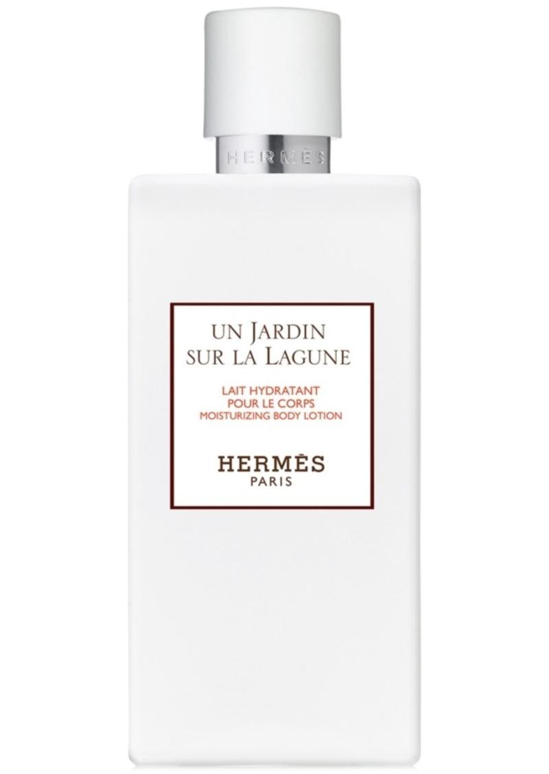 HERMES Un Jardin sur la Lagune Moisturizing Body Lotion, 6.7-oz.