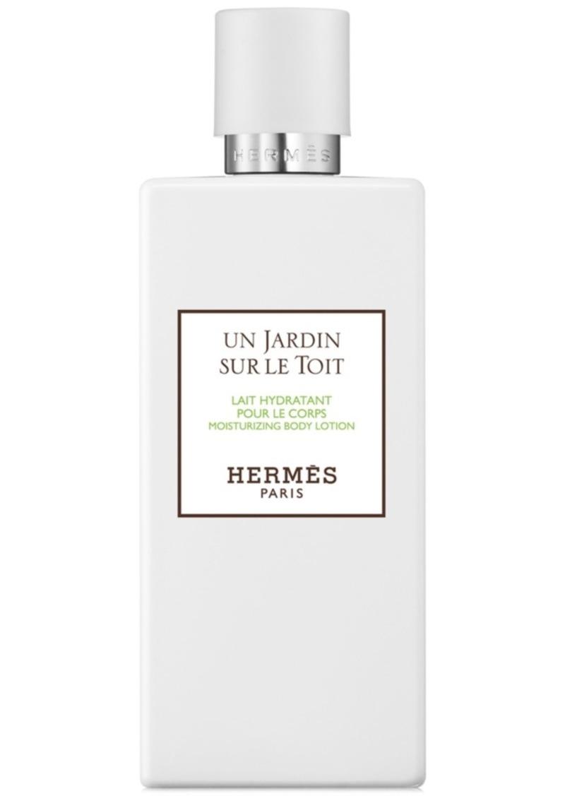 HERMES Un Jardin sur le Toit Moisturizing Body Lotion, 6.7-oz.