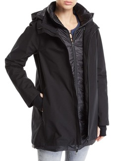 Herno 3-in-1 Padded Rain Coat w/ Hood