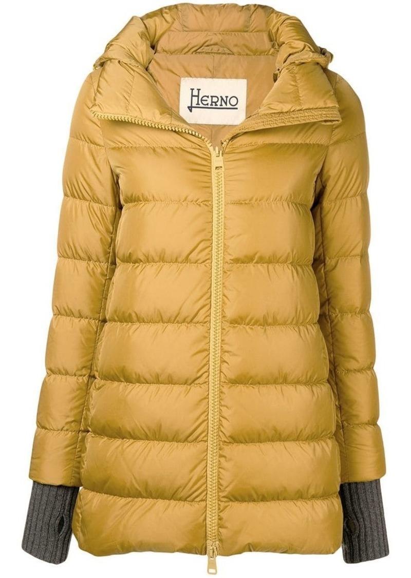 Herno glove insert padded jacket