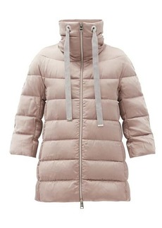 Herno Funnel-neck down jacket