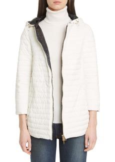 Herno Reversible Matte/Shiny High/Low Down Jacket