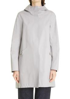 Herno Reversible Stretch Cotton Waterproof Rain Jacket