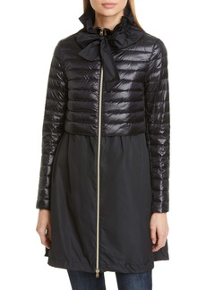 Herno Taffeta & Quilted Down Jacket