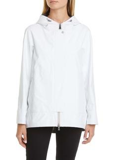 Herno Two-Ply Gore-Tex® Waterproof Hooded High/Low Coat