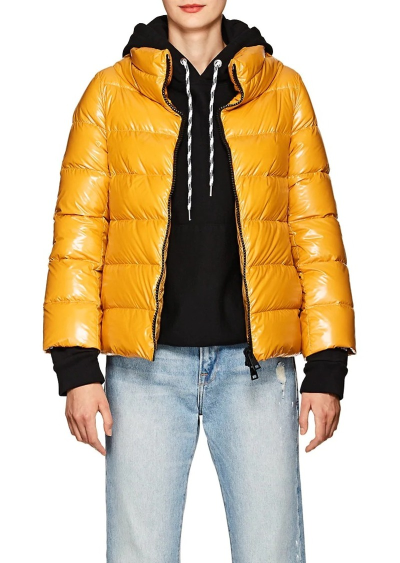 Herno Women's Down Crop Puffer Jacket With Gloves