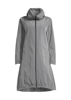 Herno Iridescent Hooded Raincoat