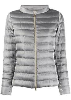 Herno metallic sheen puffer jacket