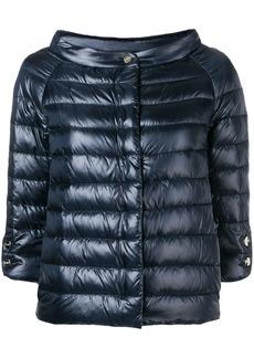 Herno quilted metallic jacket