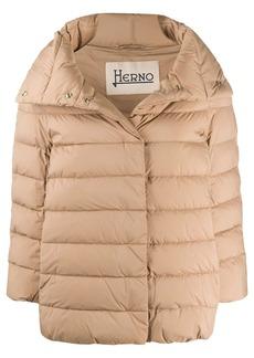 Herno Sofia three-quarter sleeves jacket