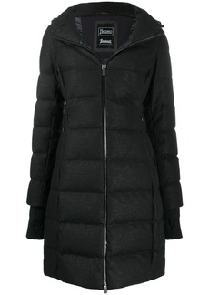 Herno sparkle quilted puffer coat
