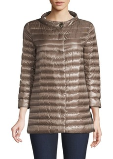 Herno Three-Quarter Sleeve Puffer Jacket