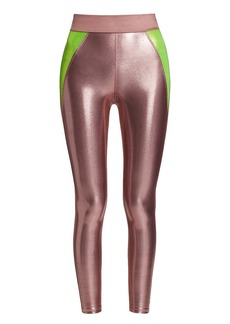 Heroine Sport Frame Metallic Leggings