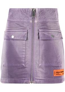 Heron Preston high-waisted cargo skirt