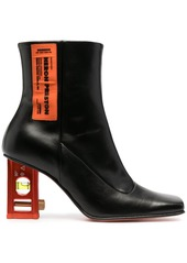 Heron Preston level-heel ankle boots