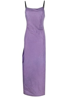 Heron Preston side-slit long dress