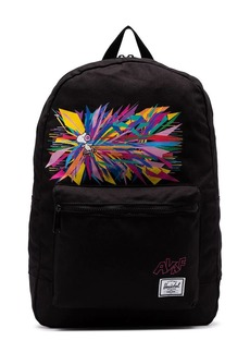 Herschel Supply Co. black Snoopy print daypack backpack