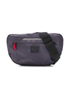 Herschel Supply Co. camouflage-print logo patch belt bag