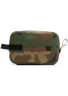 Herschel Supply Co. camouglage toiletry bag