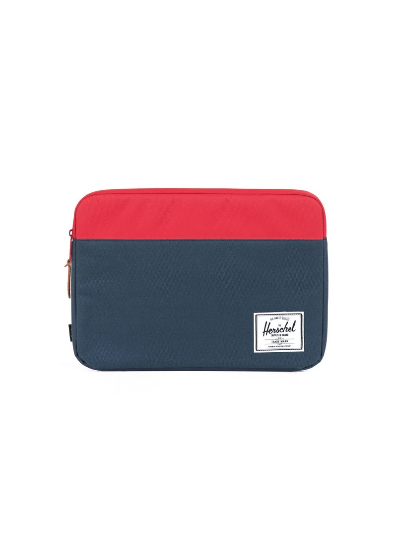 Herschel Supply Co. Anchor Sleeve for 13 Inch Macbook Navy/Red