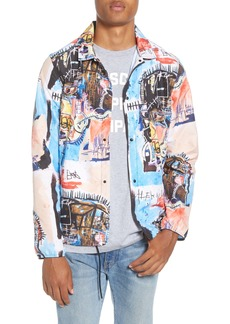 Herschel Supply Co. Basquiat Voyage Packable Water Repellent Coach Jacket