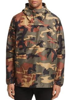 Herschel Supply Co. Camouflage Color-Block Anorak Jacket