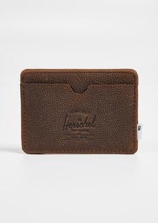 Herschel Supply Co. Charlie Leather Card Case + Tile