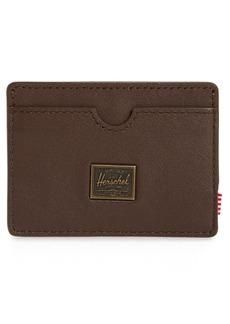 Herschel Supply Co. Herschel Supply Co Charlie RFID Leather Card Case