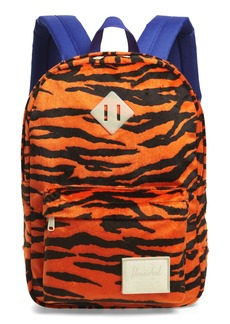 Herschel Supply Co. Classic Tiger Stripe Fleece Backpack