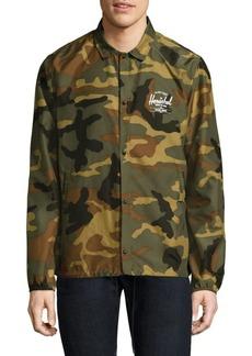 Herschel Supply Co. Coach Voyage Camouflage Jacket