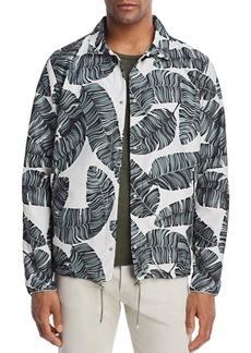Herschel Supply Co. Leaf Print Coach Jacket